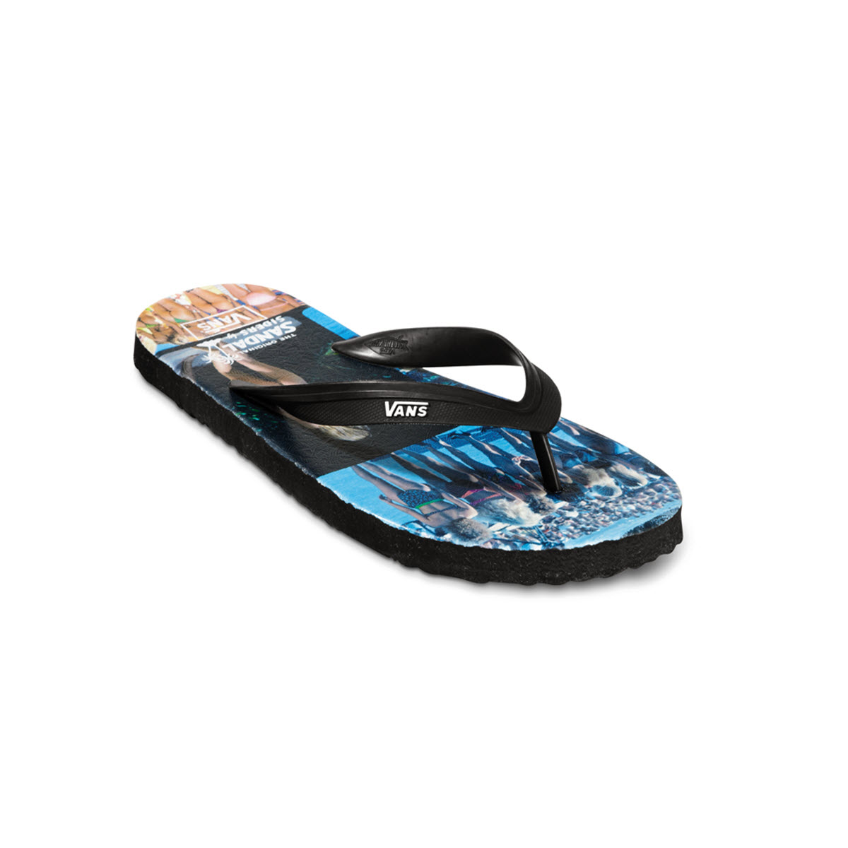 flip flops vans