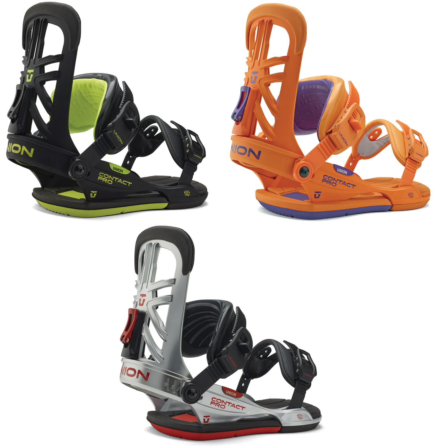 Union Contact Pro Mens Snowboard Bindings 2015 All