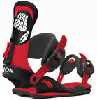 Union Crab Grab Mens Snowboard Bindings 2015 in Red Black