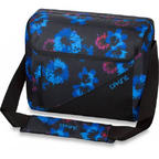 Dakine Brooke Womens 17L Laptop Shoulder Bag Messenger Blue Flowers 2015