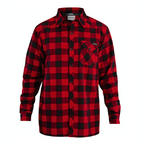 Dakine Mens Oakidge Flannel Thermal Snowboard Shirt 2014 Red Plaid
