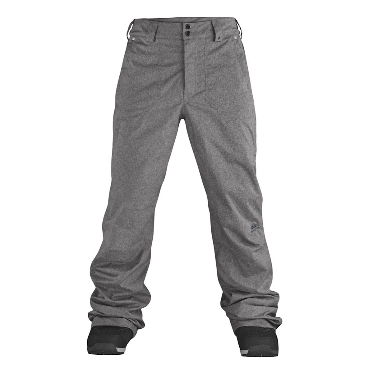 Dakine Mens Treeline Snowboard Pants 2014 Grey Heather Medium