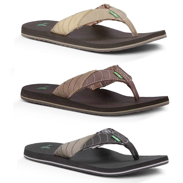 Product image of Sanuk Mens Pave The Wave Flip Flops