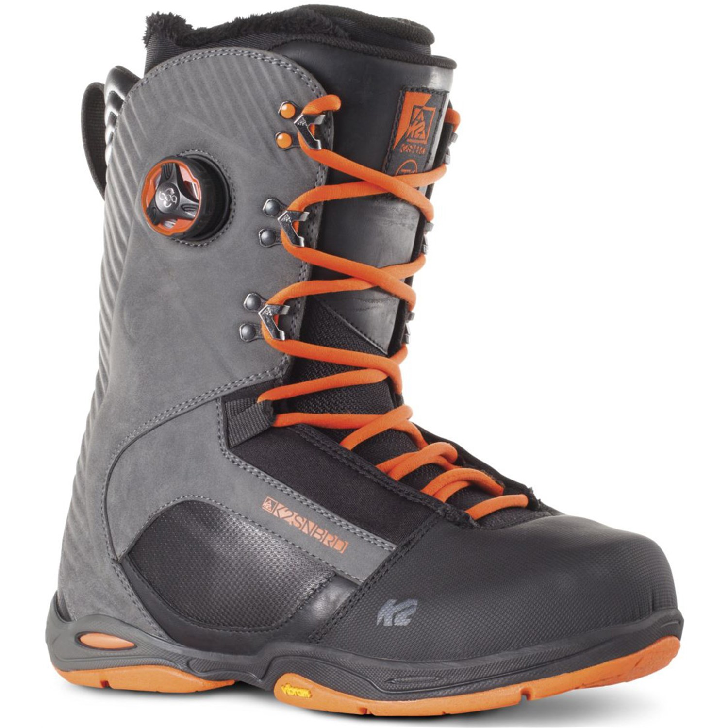 Product image of K2 T1 Mens Snowboard Boots 2015 Sample Black