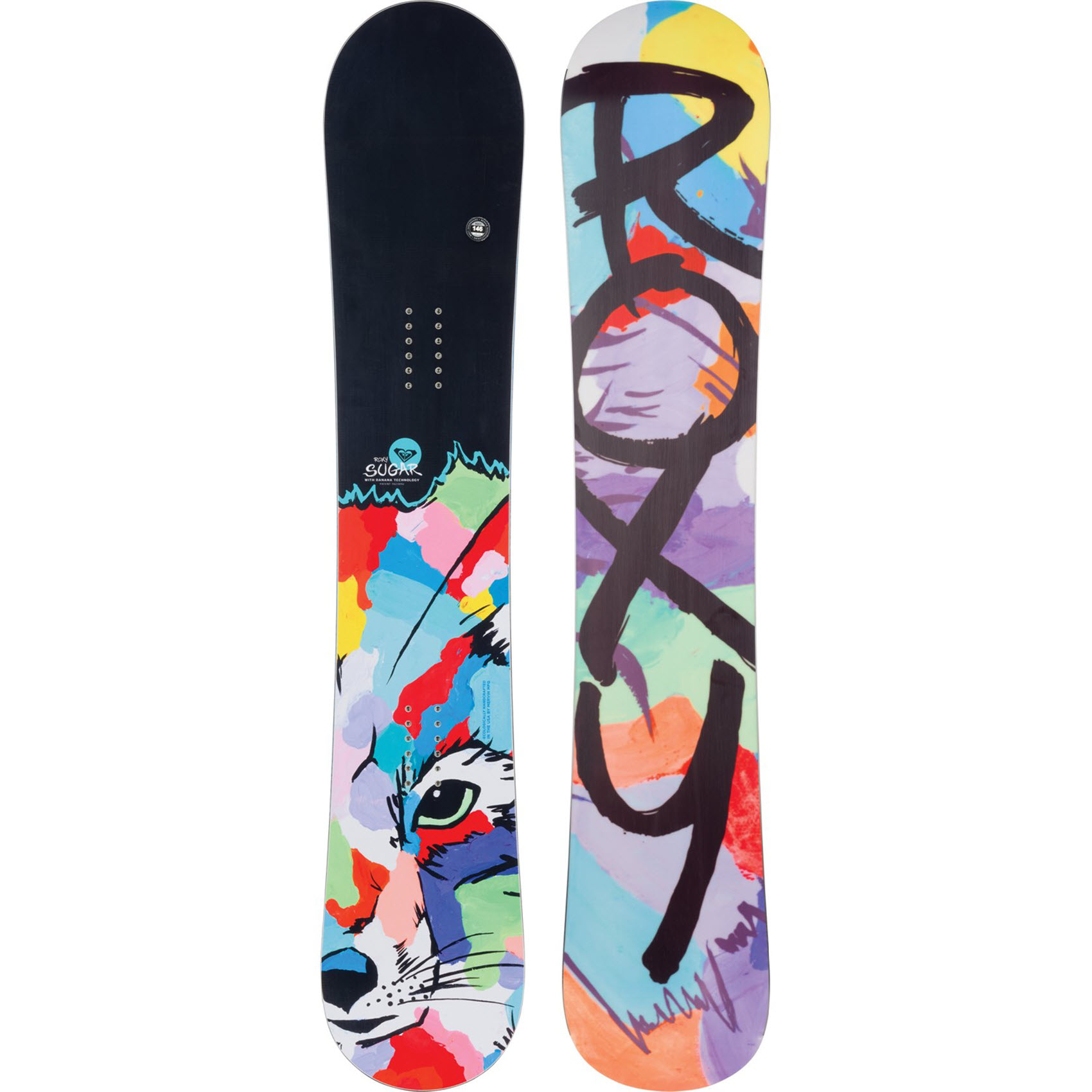 Roxy Sugar Banana Fox 2015 Womens Snowboard