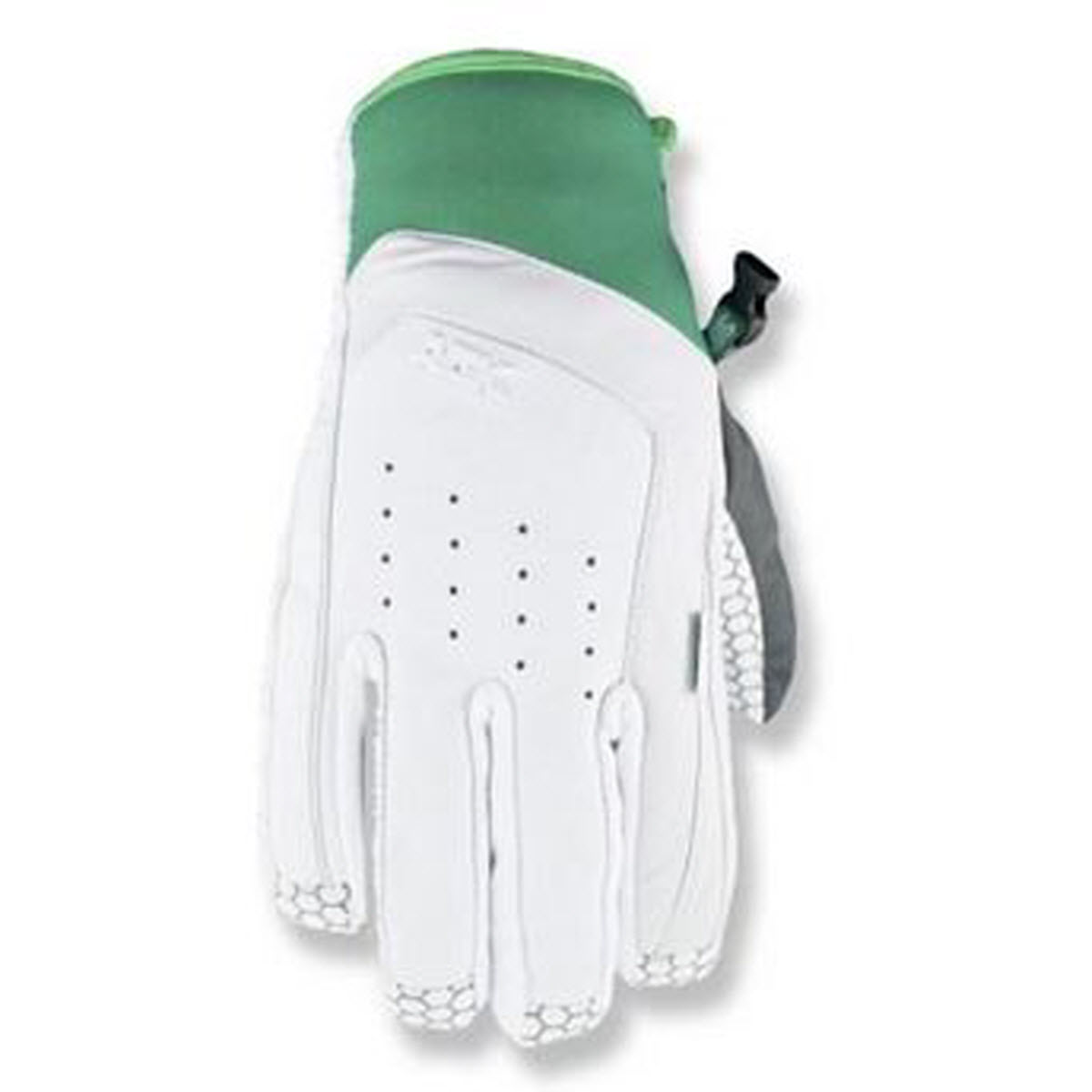 Drop OG Insulated Leather Snowboard Gloves in White