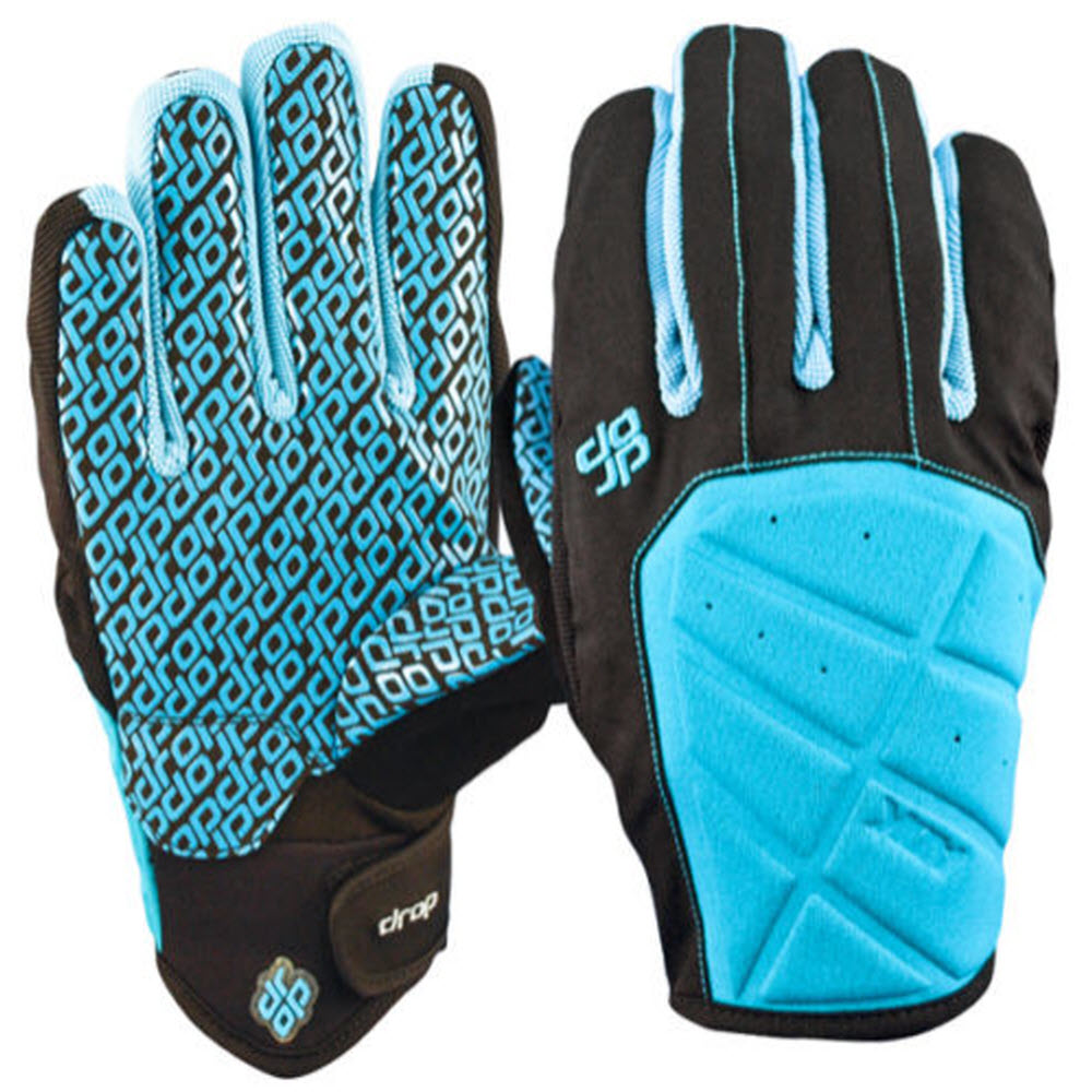 Drop Vac II Pipe Snowboard Glove Light Carribean Blue