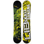 Lib Tech Skate Banana WIDE Snowboard 2015 Yellow