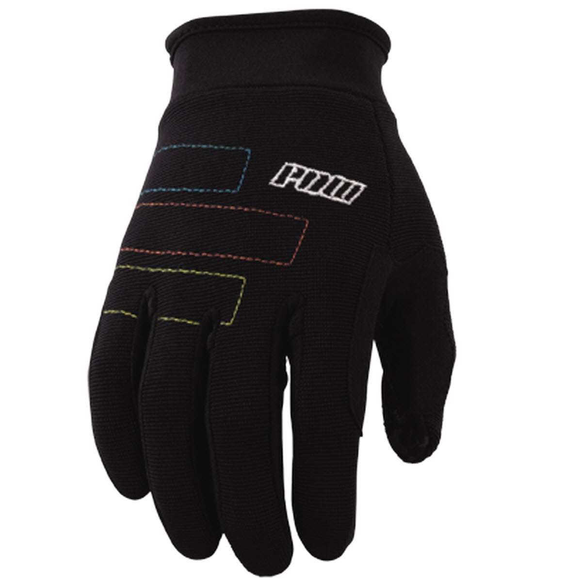 Pow High 5 Snowboard Pipe Gloves 2013 Black Large