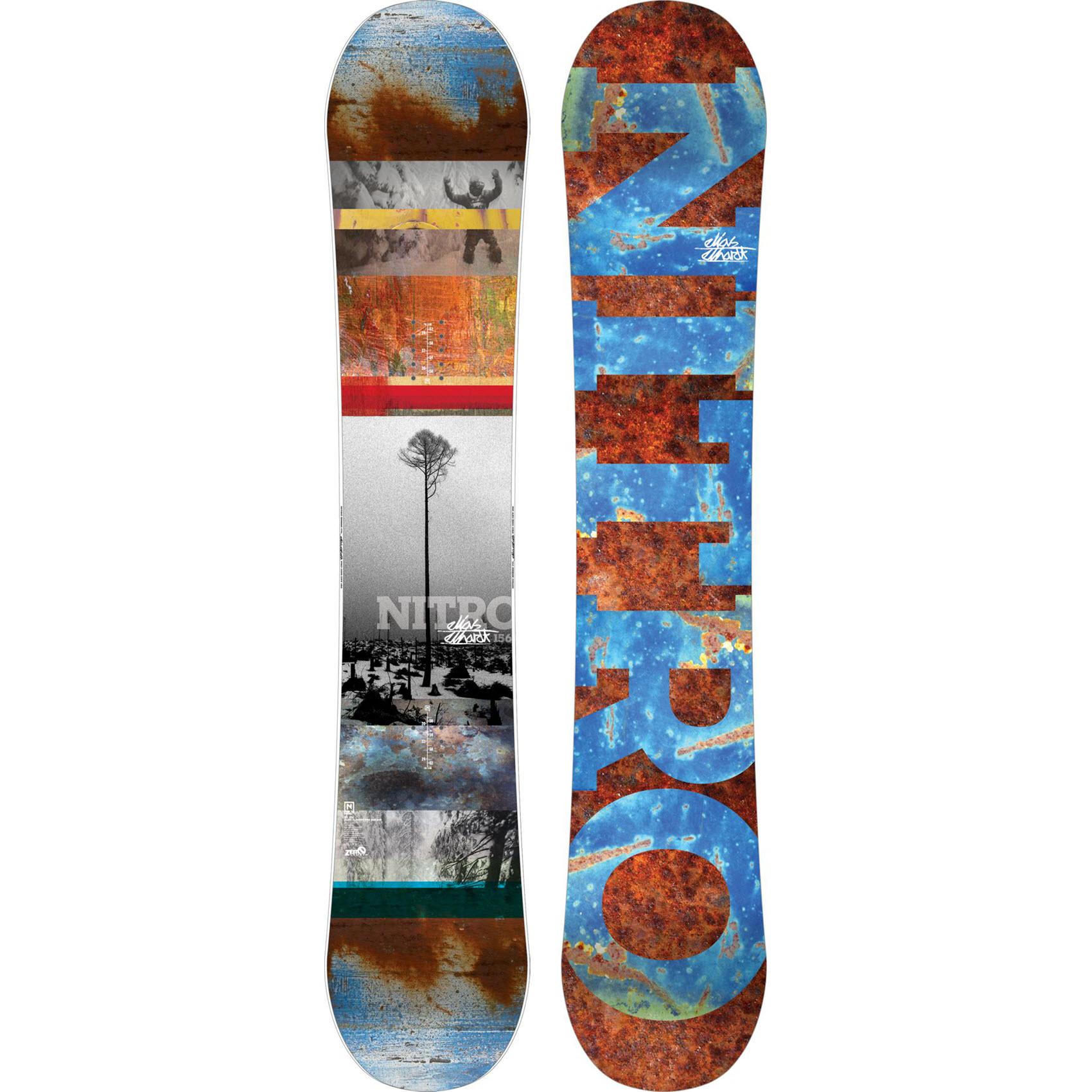 The Board Basement  Nitro Elias Elhardt Pro One Off Mens Snowboard 2015 156cm