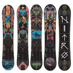 Nitro Blacklight Gullwing Mens Snowboard 2015