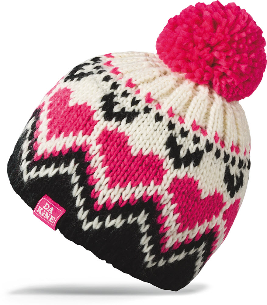 Product image of Dakine Kids Girls Molly Winter Beanie Black Pink