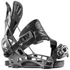 Flow NX2 GT Hybrid Snowboard Bindings 2015 Gunmetal