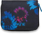 Dakine Soho Womens Purse Wallet in Blue Flowers
