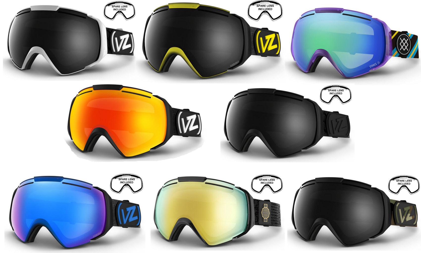 best ski goggles 2015  Von Zipper El Kabong Snowboard Ski Goggles 2015 Various Colours ...