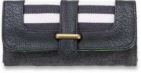 Dakine Penelope Womens Ladies Purse Wallet in Black Stripes