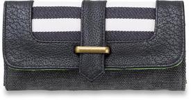 Dakine Penelope Womens Ladies Purse Wallet in Black Stripes