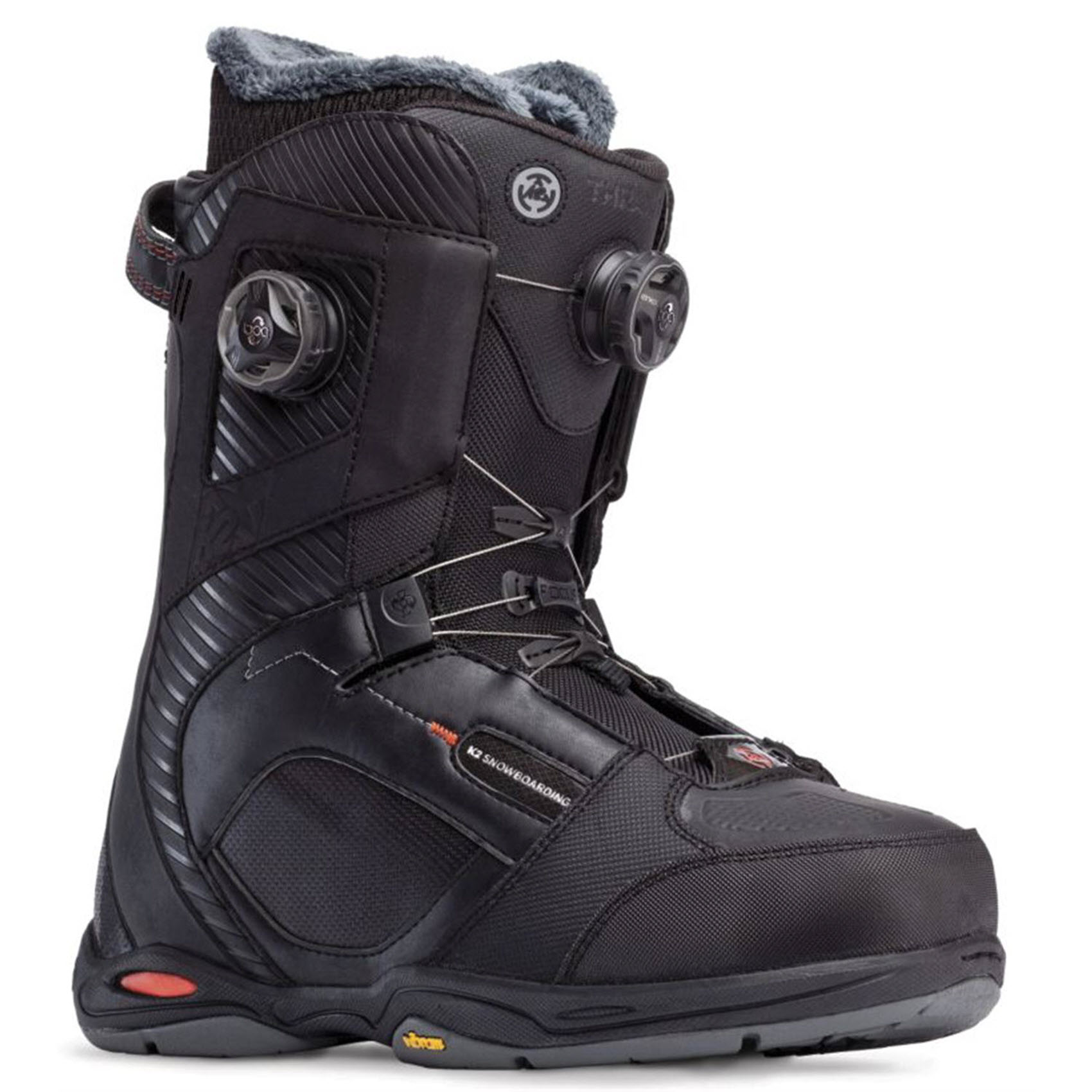 k2 thraxis boa mens snowboard boots new black 2015 freeride ebay. Black Bedroom Furniture Sets. Home Design Ideas