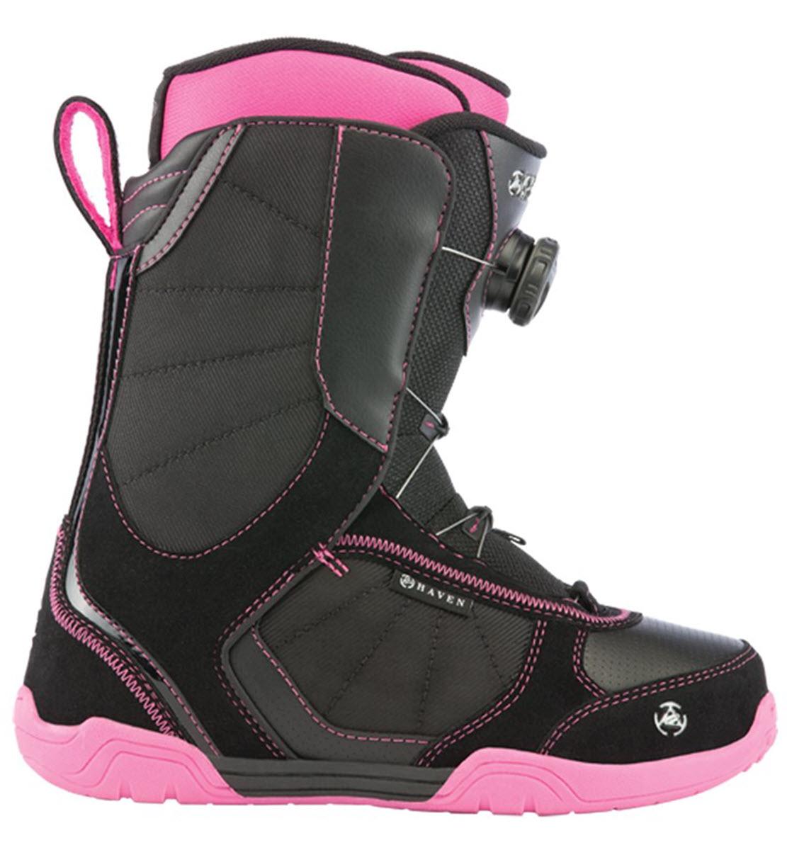 774afcbd57f7 K2 Haven BOA Womens Snowboard Boots Black Pink
