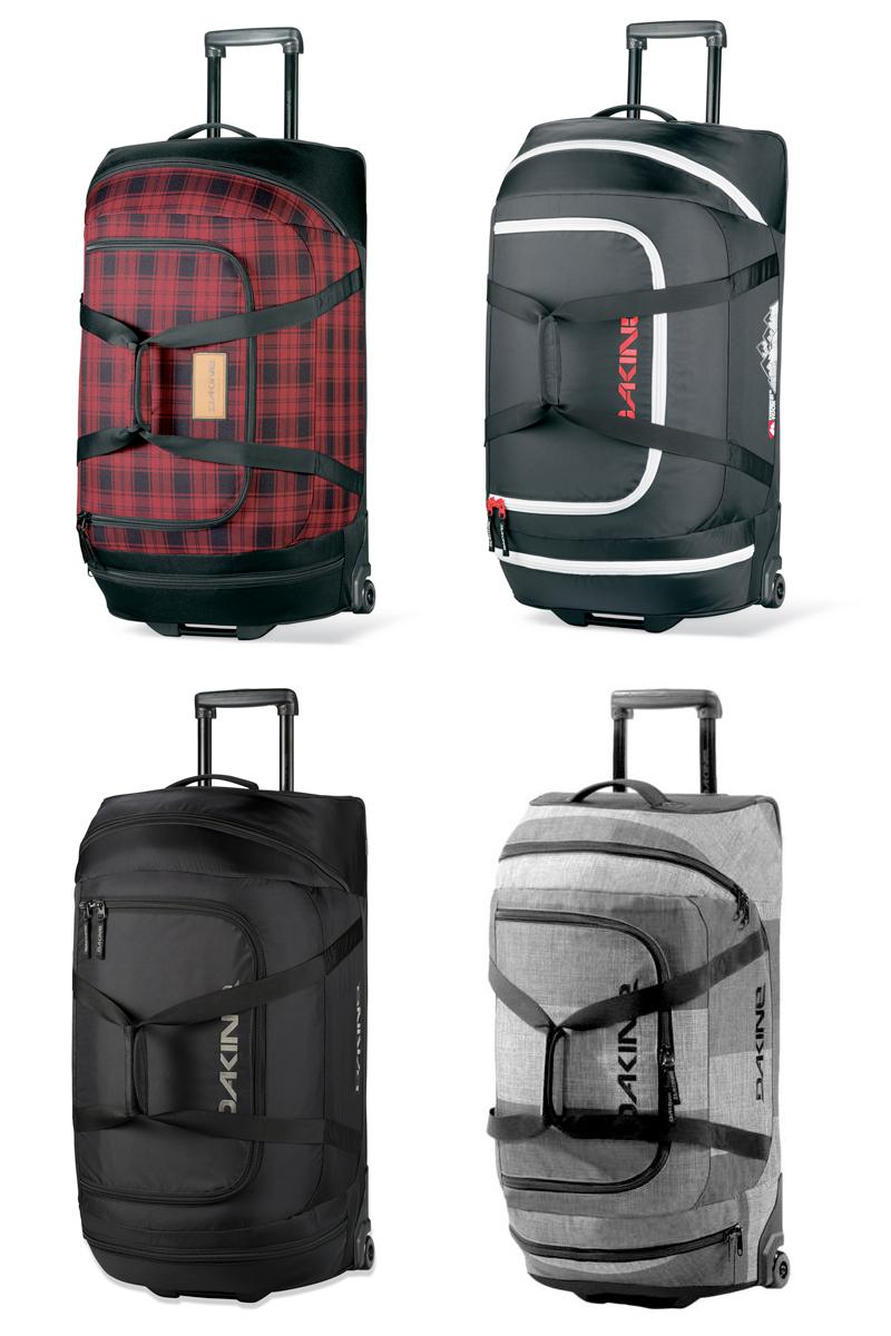 Dakine Wheeled Duffle 90L Holdall Roller 2014 Luggage Travel Bag ...