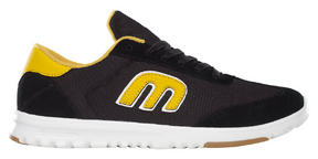 Etnies Lo-Cut SC Lightweight Skate Shoes Black Yellow 2015