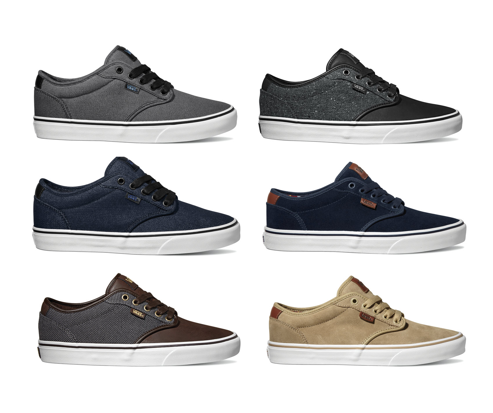 Vans Mens Shoes Atwood Deluxe Suede