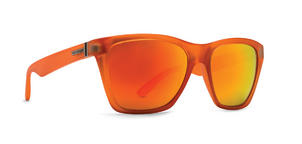 VonZipper Booker Sunglasses in Brainblast Orange with Orange Metallic Lens (SMRF3BOO SGO)