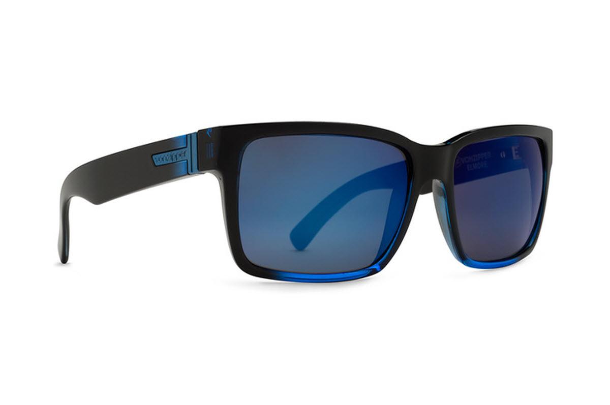 Product image of VonZipper Elmore Sunglasses-Mindglo Blue,Astro Glo Lens (SMRFAELM FBB)