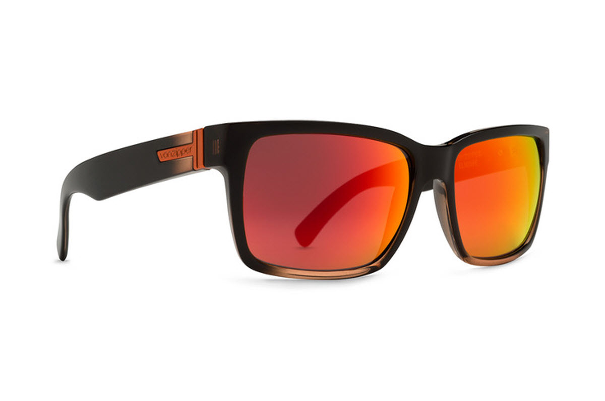 Product image of VonZipper Elmore Sunglasses in Mindglo Orange with Lunar Glo Lens