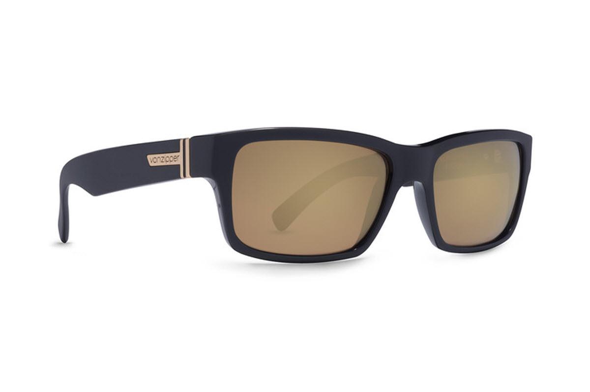 Product image of VonZipper Fulton Sunglasses in BattleStations Black - Gold Glo Lens