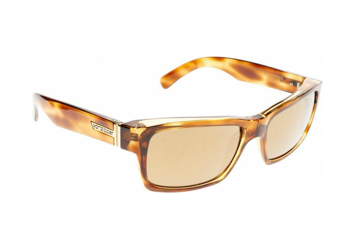 Product image of VonZipper Fulton Sunglasses Demi Tortoise & Gold Glo Lens SMRF7FUL-TRG