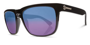 Electric Knoxville XL Sunglasses 2015 Gloss Black with Blue Polarized