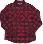 Dakine Up Country Mens Long Sleeve Shirt Cardinal large 2015