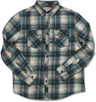 Dakine Rustler Mens Checked Shirt Long Sleeve Pacific Large