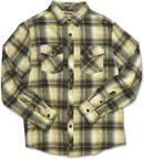 Dakine Rustler Mens Long Sleeve Checked Shirt Lemon Large