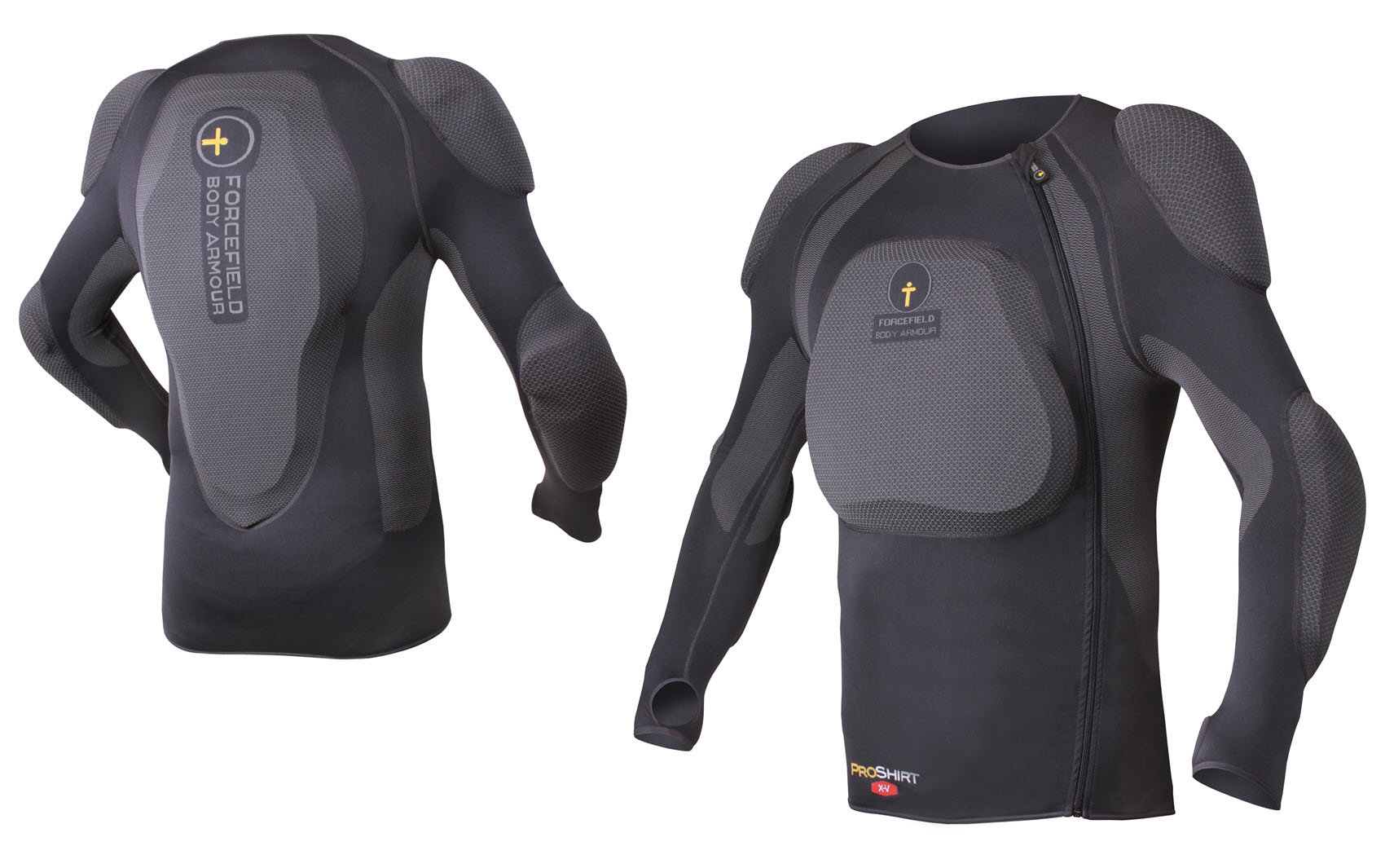 forcefield snowboard body armour pro shirt x v back. Black Bedroom Furniture Sets. Home Design Ideas