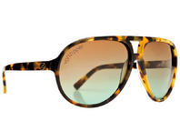Von Zipper Telly Sunglasses Leopard Tortoise with Brown Gradient Lens