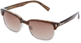 Vonzipper Mayfield Sunglasses Demi Tort Bronze Gradient Lens