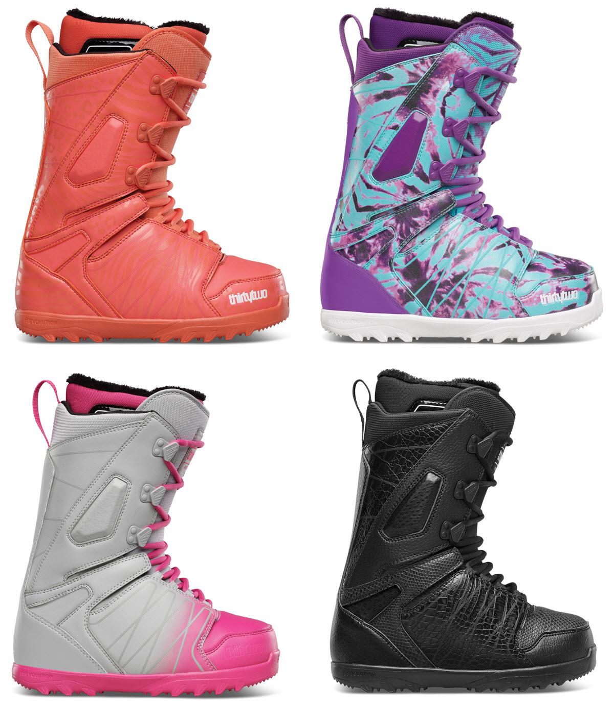 thirtytwo snowboard boots sle womens lashed no box uk 4
