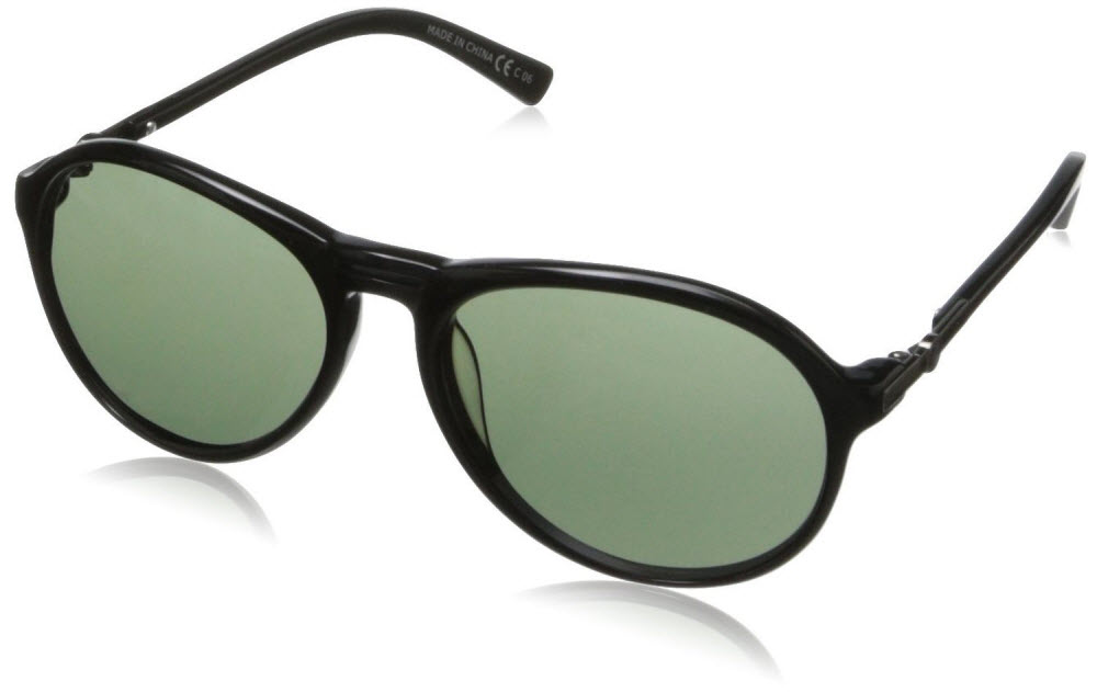 Product image of VonZipper Womens Digby Sunglasses in Gloss Black - Vintage Grey Lens