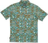 Dakine Tapa Mens Short Sleeve Shirt Khaki Large