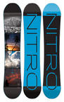Nitro Team Gullwing Wide Exposure Snowboard 2016