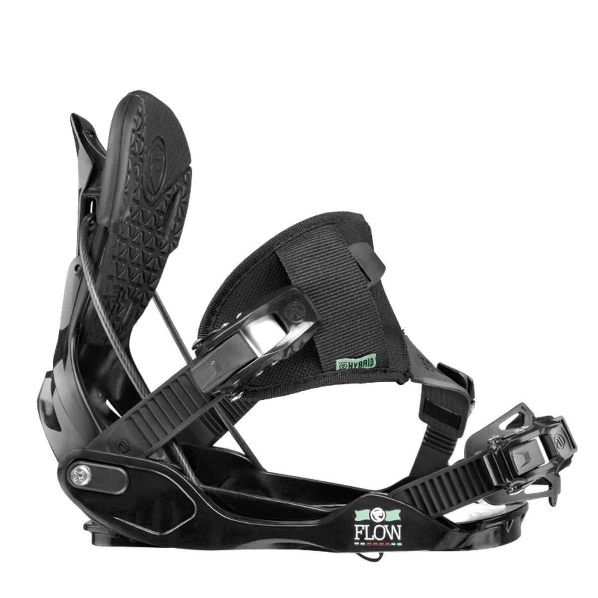 Flow Minx Hybrid Womens 2015 Snowboard Bindings Black