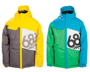 686 Boys Mannual Iconic Insulated Snowboard Jacket 2014