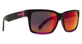Von Zipper Elmore Sunglasses Mindglo Pink with Galactic Glo Lens