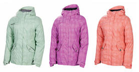 686 Reserved Luster Womens Snowboard Jacket 2013