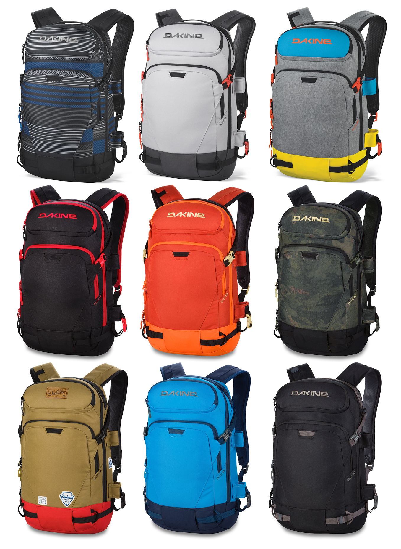 Dakine Heli Pro 20L Backpack - Crazy Backpacks