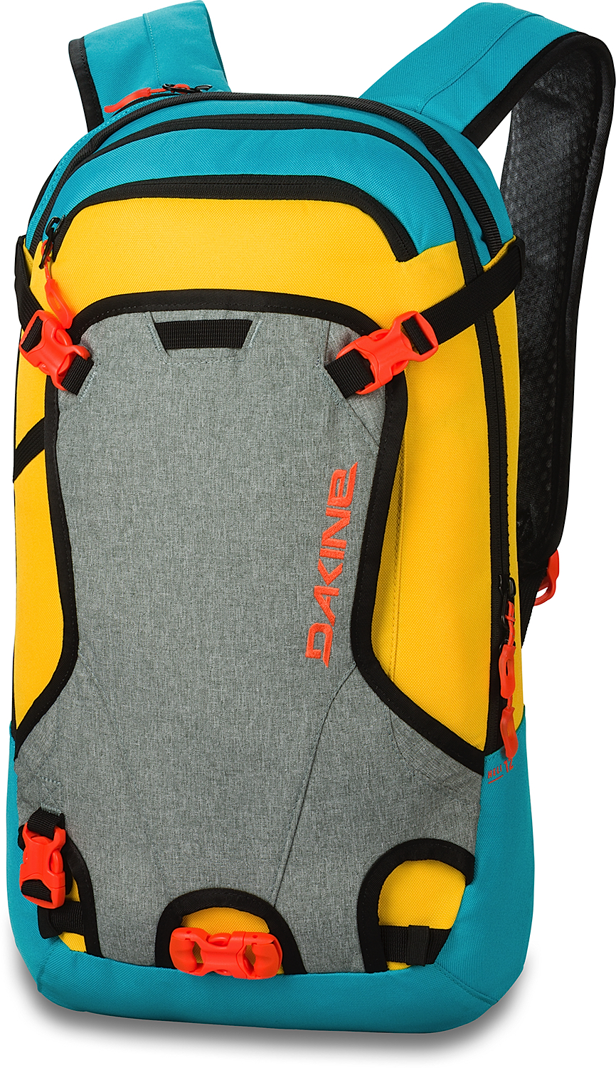 Dakine Backpack - Heli Pack 12L - Snowboard, Ski, Rucksack, Winter ...