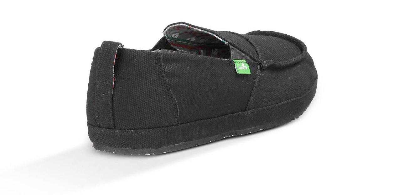38ea369e4f0c3 Sanuk-Zapatos-Commodore-acera-surfista-Slip-On-Zapatillas miniatura