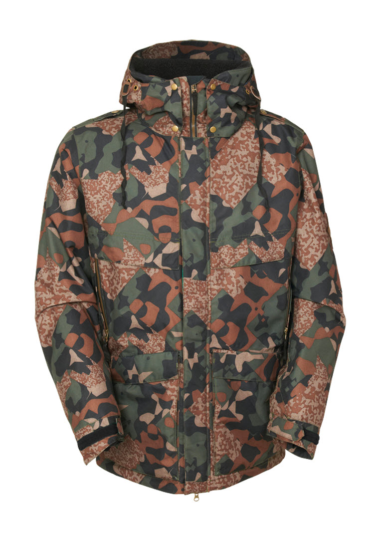 An Affordable Quality Guarantee 686 Parklan Field Insulated Jacket Mens Army Cubist Camo 8Z1K